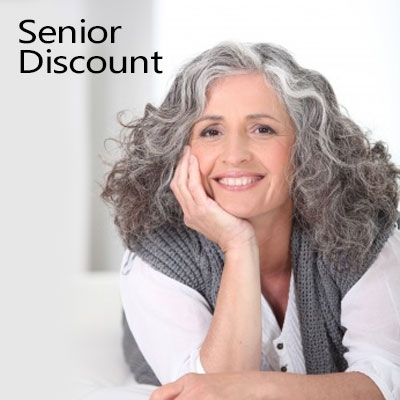 Over 65s – Seniors Discount