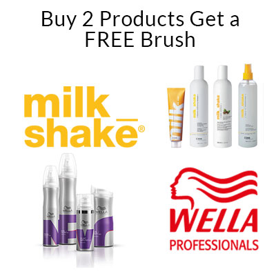 Buy 2 Products Get a FREE Brush