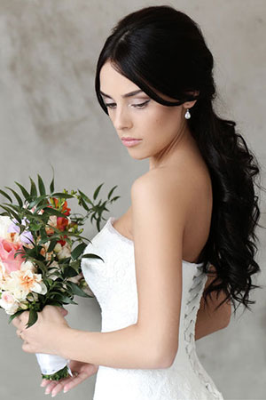 Beautiful Wedding Day Hair for Bridesmaids