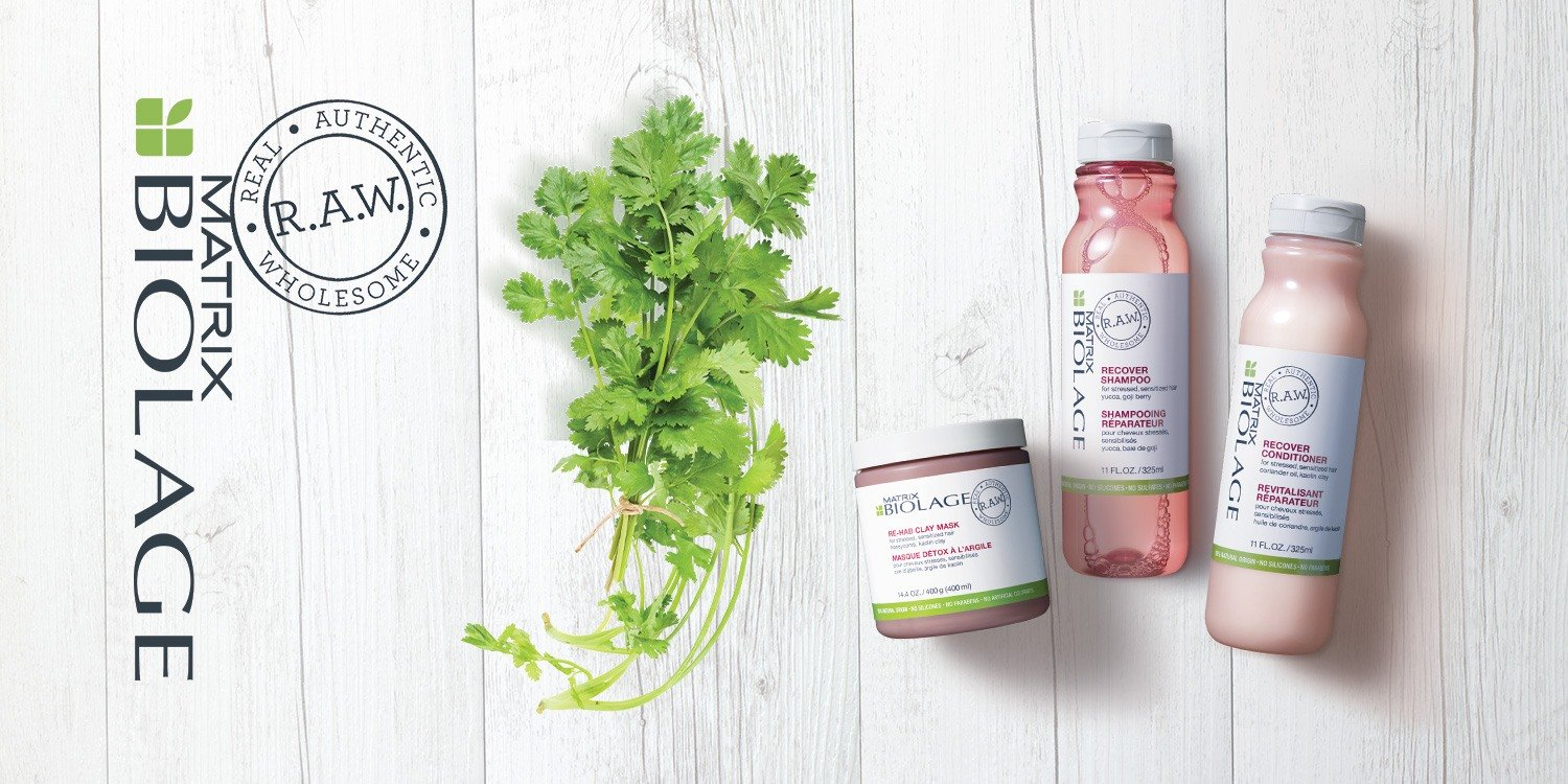 Biolage Recover Products at Melanie Richards hairdressing salon in Peterborough