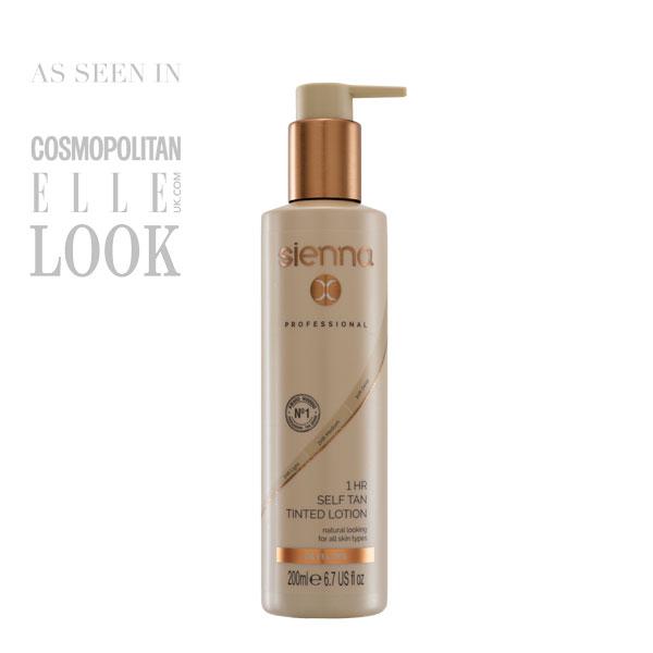Sienna X self tan lotion at Melanie Richards Hair Boutique