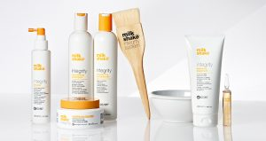 Milkshake hair products at Melanie Richard's