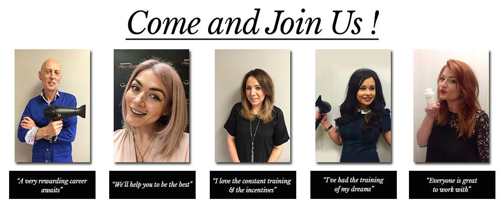 come-and-join-us-Melanie Richard's Hair Salon