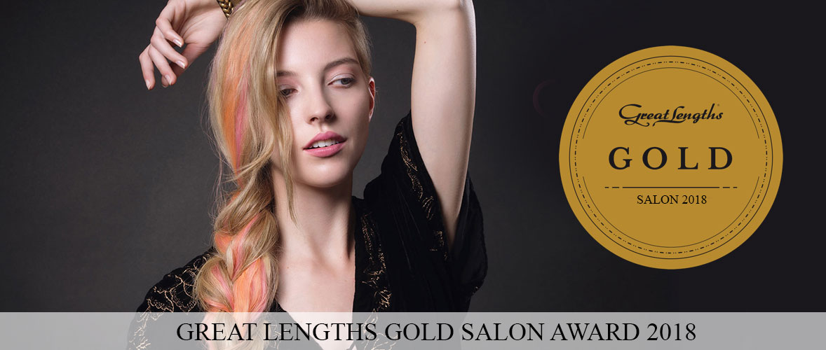 Great-Lengths-Gold-Salon-Award-2018 melanie richard's hair salon peterborough