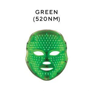 green mask Melanie Richard's Beauty Salon in Peterborough - LED Treatments with Unique LED Masks