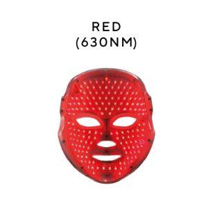red mask Melanie Richard's Beauty Salon in Peterborough - LED Treatments with Unique LED Masks