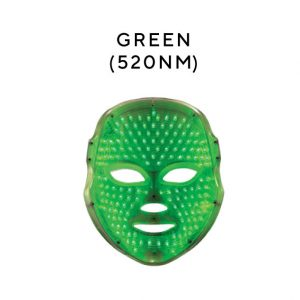 green mask Melanie Richard's Beauty Salon in Peterborough - LED Treatments with Unique LED Masks