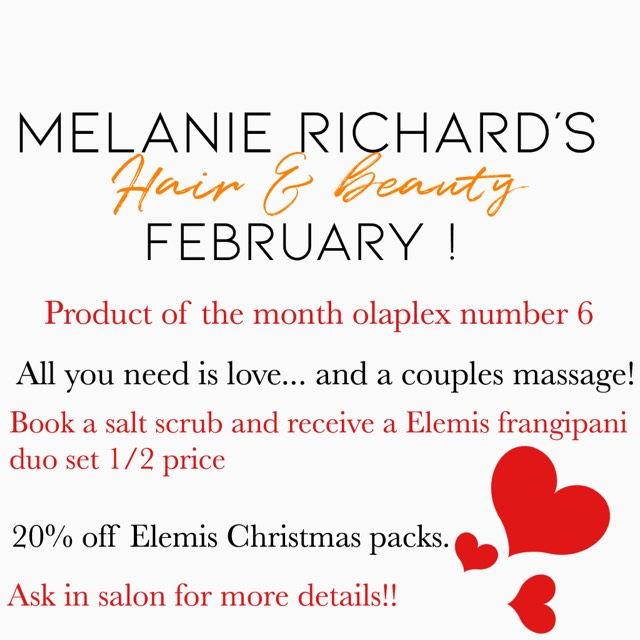 great salon offers and discounts at melanie richards hair and beauty salon in peterborough