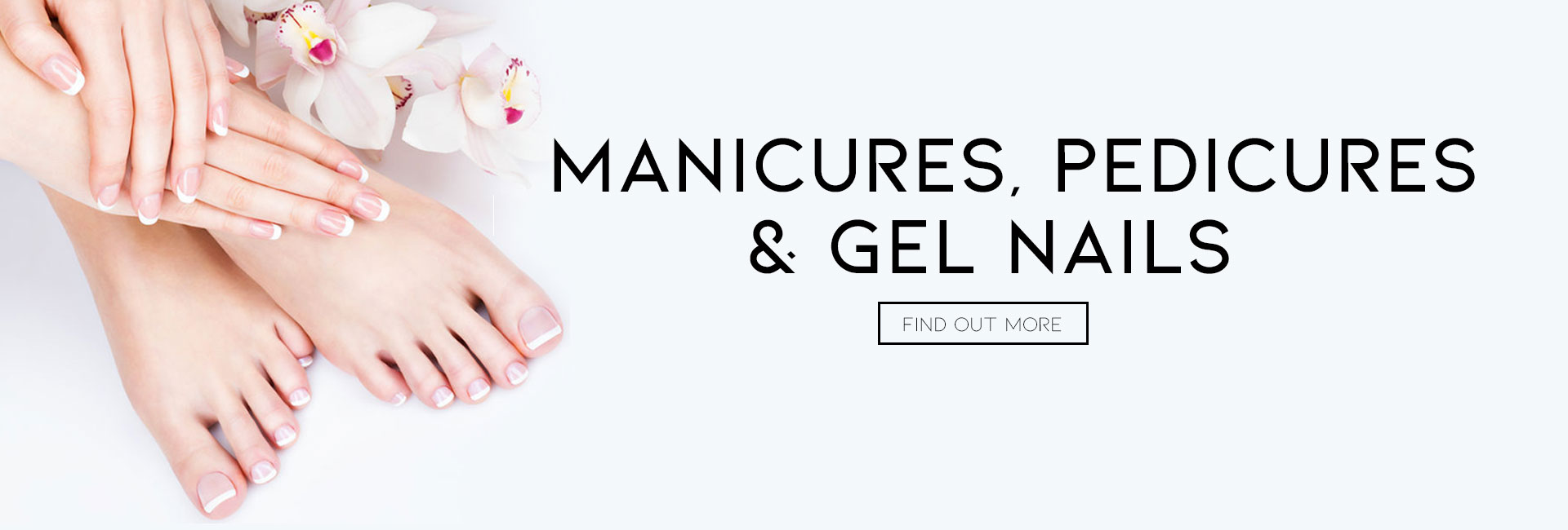 Manicures Pedicures Gel Nails at melanie richards hair and beauty salon in peterborough