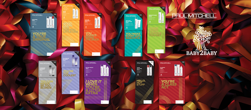 Paul Mitchell christmas packs at melanie richards hair and beauty salon in peterborough
