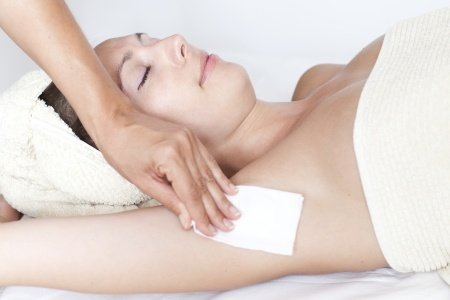 underarms waxing treatments at melanie richards hair and beauty salon in peterborough
