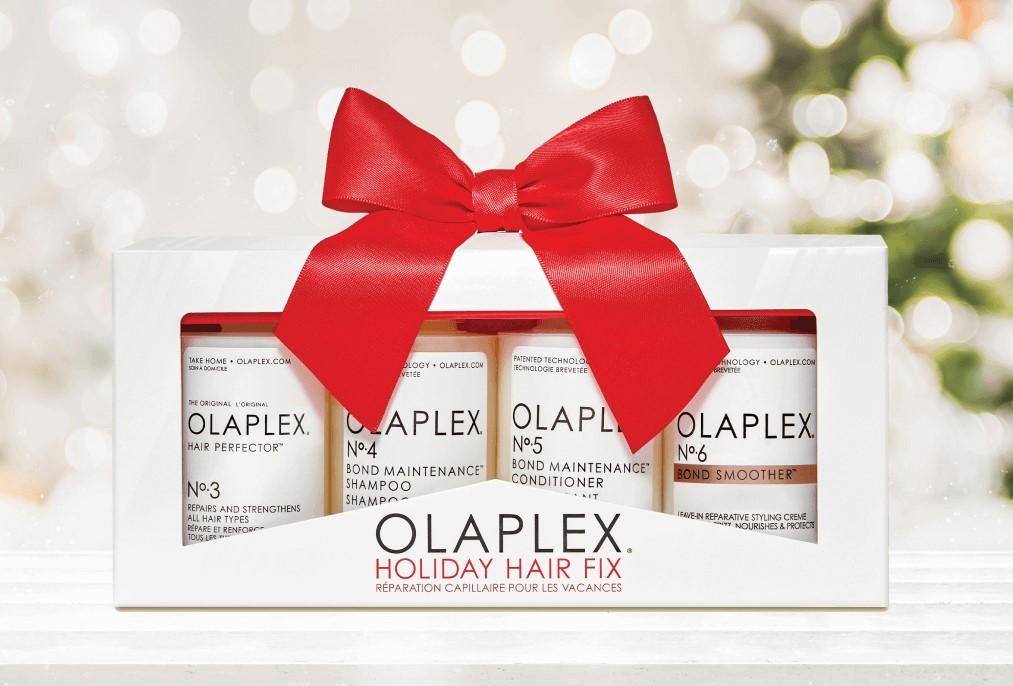 olaplex shine bright gift sets at melanie richards hair and beauty salon in peterborough