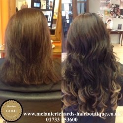 Hair Extensions Before and After 2
