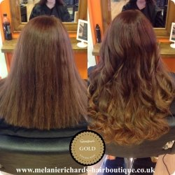 Hair Extensions Before and After 3
