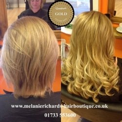 Hair Extensions Before and After 4
