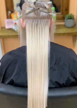 hair extensions at melanie richards hair and beauty salon in peterborough